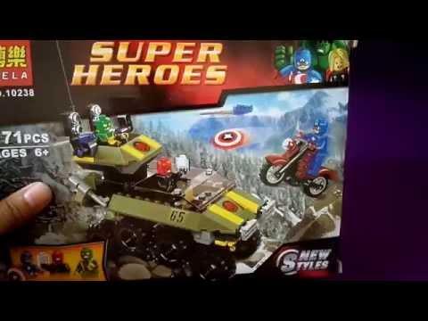 เลโก้จีนรีวิว BELA SUPER HEROES No.10238  By.T&J ToyS Review