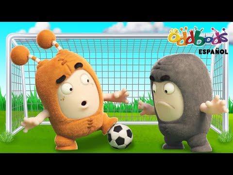 Mundial de Futbol FIFA 2018 con Oddbods | Caricaturas Graciosas Para Niños