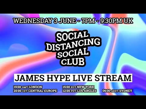 James Hype - Live Stream #stayhome #withme 03/06/20