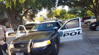 """Houston police department arrive on property """"check the trunk?"""" Part 2"""