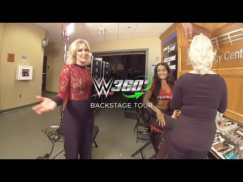 Exclusive backstage access in 360° with your favorite WWE superstars!