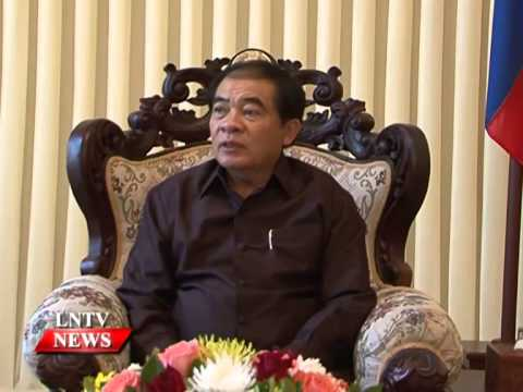 Lao NEWS on LNTV: Luang Prabang Gov says the province's revenues collection misses target.2/10/2014