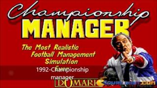 HISTORY OF FOOTBALL MANAGEMENT VIDEO GAMES (FOOTBALL MANAGER, CHAMPIONSHIP MANAGE, FIFA MANAGER ETC)