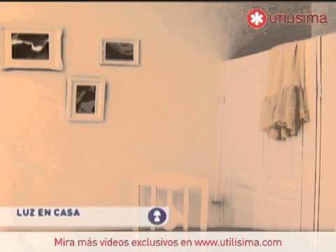 Util sima luz en casa rec mara en blanco youtube - Luz pulsada en casa ...