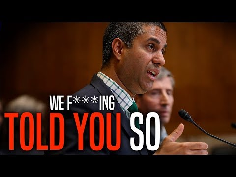 Ajit Pai Finally Admits Comment Fraud Plagued Net Neutrality Repeal Process Mp3