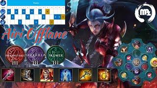 Airi Bloodraid Legendary skin - 100 Lotto draw - Arena of Valor