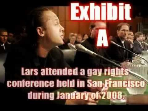 PROOF THAT LARS ULRICH IS GAY