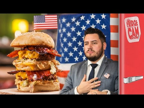 THE ULTIMATE USA FOOD BATTLE | FridgeCam