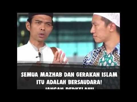 UAS : Semua Mazhab dan Gerakan Islam Itu Bersaudara! Yuk Saling Melindungi