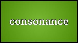 Consonance Meaning