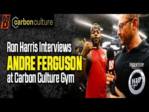 Ron Harris Interviews Andre Ferguson At The Carbon Culture Gym