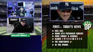 (Live) Aaron Boone's heart, Best NL Teams, Unwritten Rules, Judge hit by pitch, &  UFOs | 6-4-3 DP