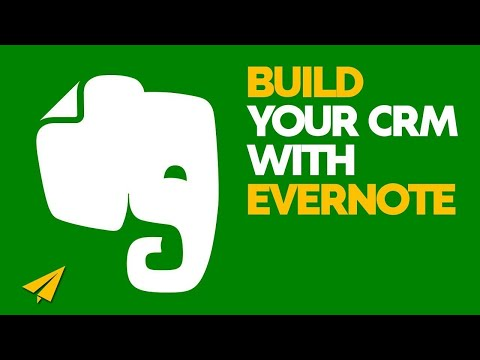 Evernote Tutorial - How to use Evernote as a CRM