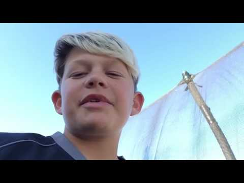 50 subscriber special 50 balloons on trampoline