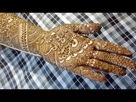 Bridal Henna Design 3 By Heena Vahid