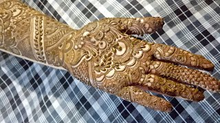Bridal henna design #1