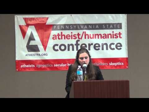2015 PAStAHCon: Sarah Levin - Flexing Our Secular Political Muscle
