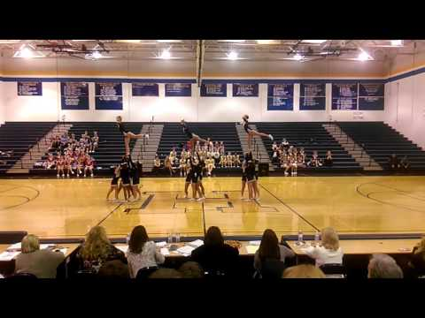 Moorefield High School-WVSSAC Region 2 A Cheer 2015