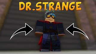 DR. STRANGE TROLLING!? | ROBLOX (SUPER POWER TRAINING SIM)