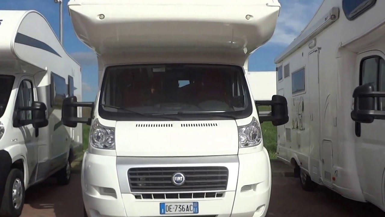 Camper Letto Matrimoniale Posteriore.C I Riviera 110 Mansardato Con Letto A Castello Trasversale