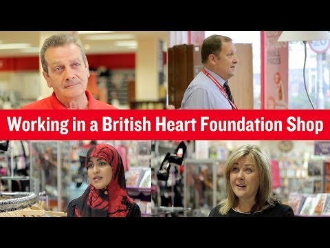British Heart Foundation - Working in a BHF Shop