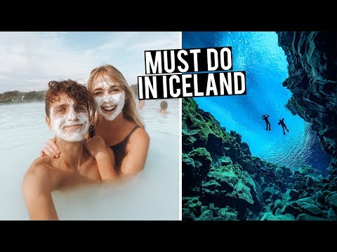 MUST DO IN ICELAND | Blue Lagoon & Snorkelling in Silfra
