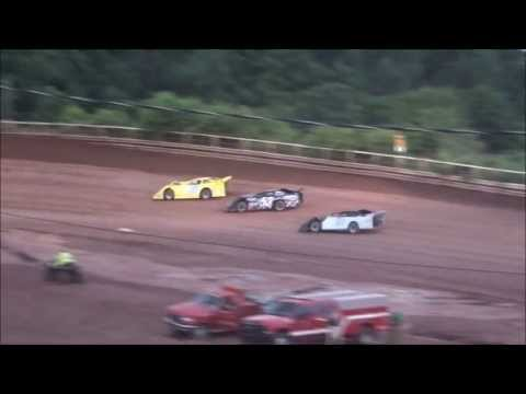 Late Model Heat #1 From I-77 Raceway, 7/6/13.