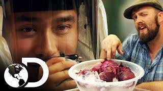 Cebolla lacrimógena | Mythbusters: Los cazadores de mitos | Discovery Latinoamérica