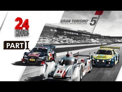 GRAN TURISMO 5 - Racing at the 24 Hours of Nurburgring 2012 Part 1