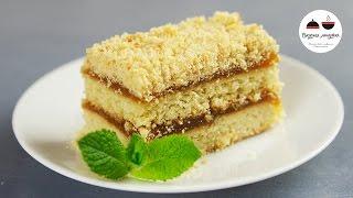 ПЕСОЧНОЕ ПИРОЖНОЕ как в детстве  Shortcake with Apple Jam