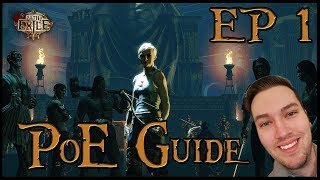 Path of Exile Beginners Guide and Playthrough 2018