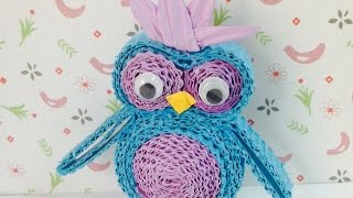 Make A Cute Screech Owl - Diy Crafts - Guidecentral