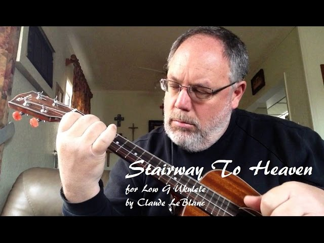 Stairway To Heaven For Low G Ukulele Chords Chordify
