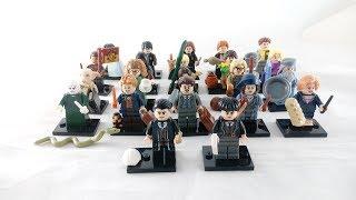 Recenzja - Kolekcjonerskie Minifigurki LEGO Harry Potter & Fantastyczne Zwierzęta