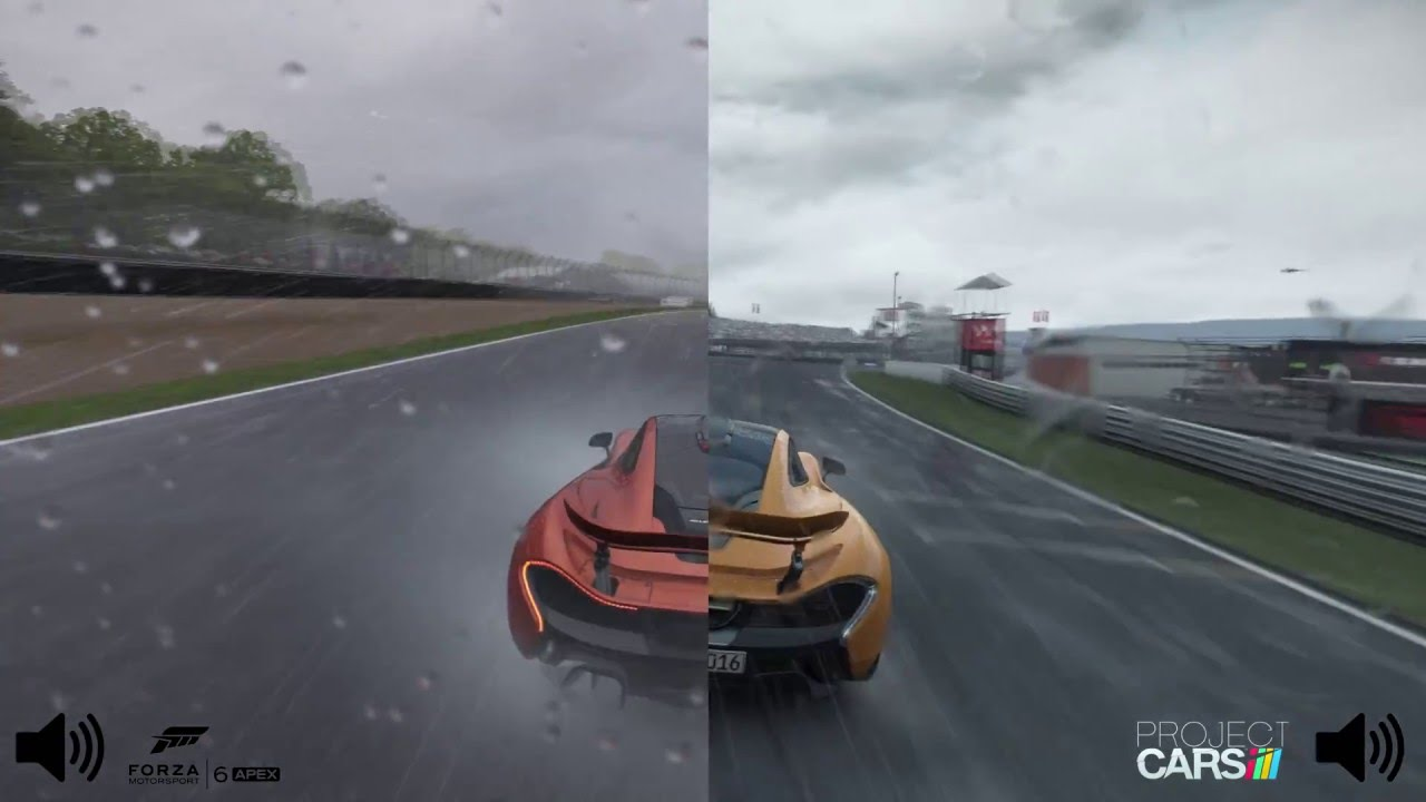 Project Cars  Vs Forza  Pc