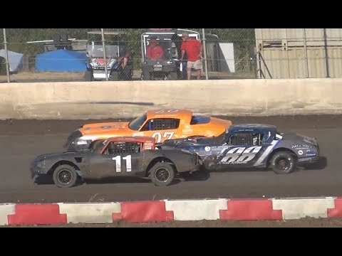 Street Stock-Heats & Dash @ Willamette Speedway 2018