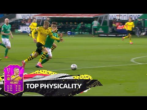 Top 10 Best Physicality - Haaland, Lewandowski, Cordoba & More - EA SPORTS FIFA 20