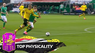 Top 10 Best Physicality Haaland Lewandowski Cordoba More EA SPORTS FIFA 20