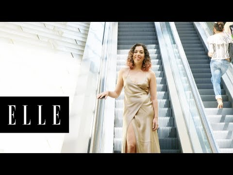 Living as Bella Hadid's in Her Thigh-High Slit Dress | ELLE