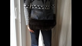 How to make a fur sleeve for a purse - OWIMO Design Upcycling Thumbnail