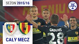 Piast Gliwice - Korona Kielce [1. połowa] sezon 2015/16 kolejka 13