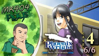 MK404 Plays Phoenix Wright: Ace Attorney | Case 4[6/6, First Credits] - Laser Guided Karma
