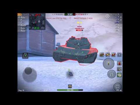 Об.140 6600dmg - чудеса танкования или +-15 в действии    WOT BLITZ