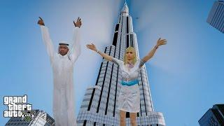 GTA 5 REAL LIFE MOD#125-TRIP TO DUBAI!!
