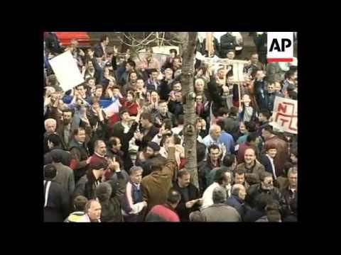 MONTENEGRO: PROTESTS AGAINST NATO AIRSTRIKES