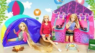 Safari Tent Cing Gear for Barbie dolls Puppe Zelt Vélo Soeur Barbie adik sepeda