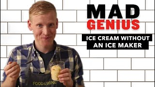 How to Make Ice Cream Without an Ice Cream Maker | Food u0026 Wine