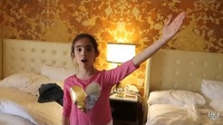 4 HOTEL ROOMS IN 1 DAY!!