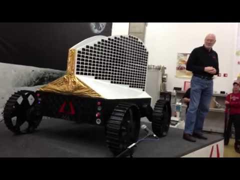 Astrobotic Technology - Polaris Rover - Public Debut