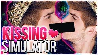 KISSING SIMULATOR?! | Realistic Kissing Simulator, Boob Simulator & MORE! | Simulator Games